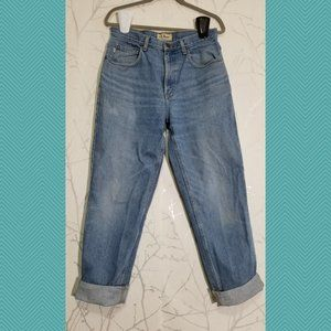 L.L. Bean High Rise Relaxed Fit Mom Jeans